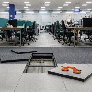 High Tech raised access floor