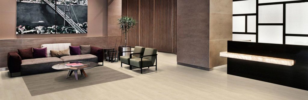 foto de un pavimento vinilico instalado - parquets pedrosa